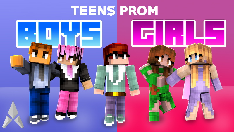 Teens Prom Boys Girls