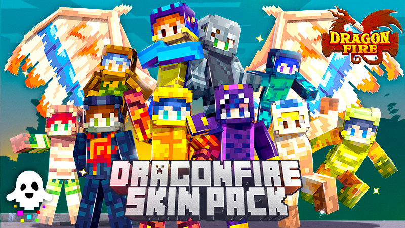 DragonFire Skin Pack