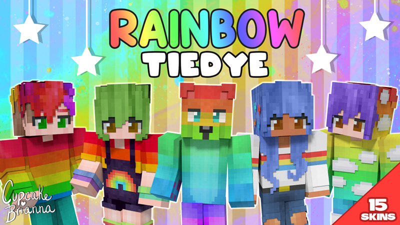 Rainbow Tiedye HD Skin Pack