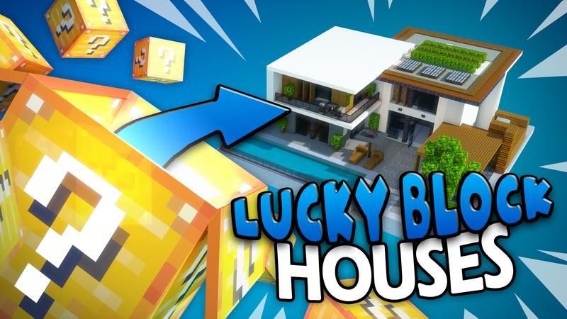 Lucky Block Houses
